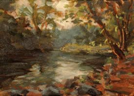 """Brandywine River View""  5 x 7 $475."