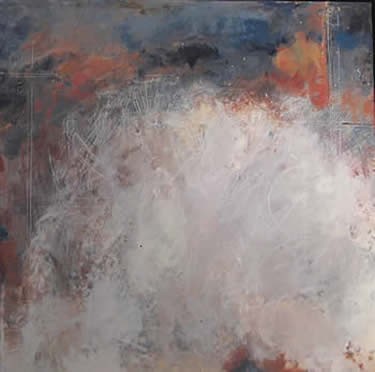 Linda Ford encaustics at Station Gallery