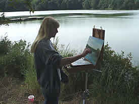 Michele Green painting