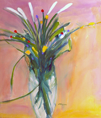 Anne Boysen paintings at Station Gallery