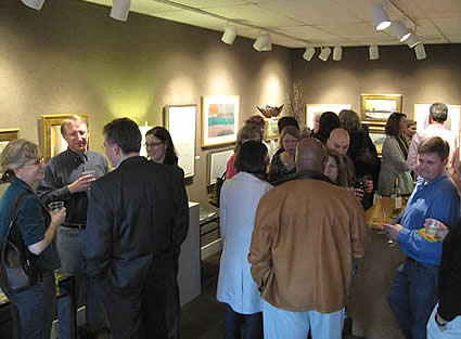 Art Opening at Station Gallery