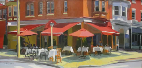Elaine Lisle paintings at Station Gallery