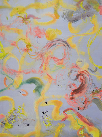 Barbara Straussberg monoprints at Station Gallery