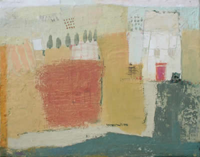 Temre Stanchfield paintings at Station Gallery